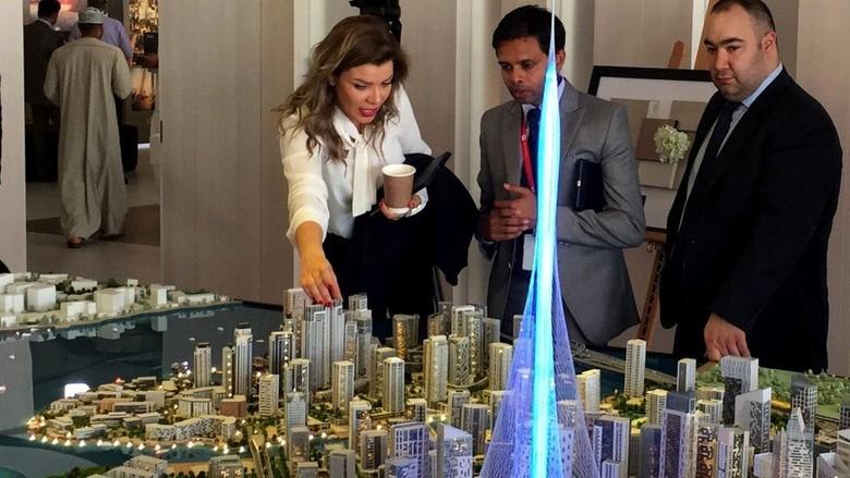 Dubai Bangun Lagi Gedung Tertinggi di Dunia, Creek Harbour Tower