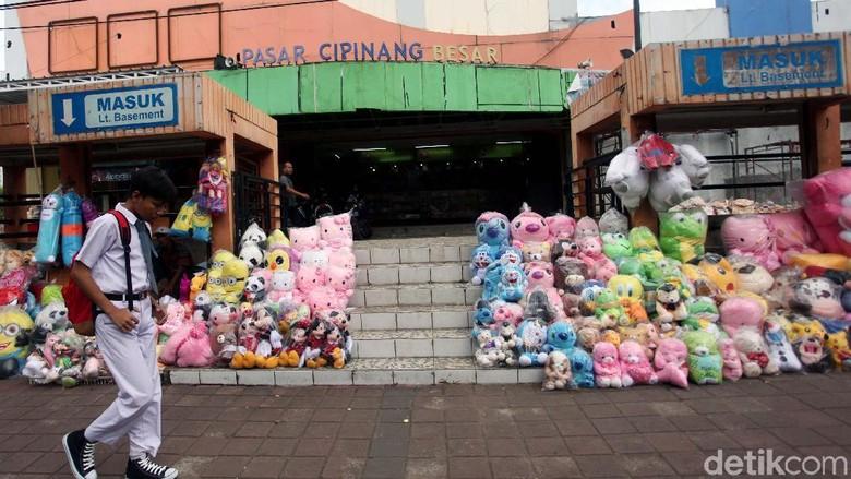 Pasar Cipinang Besar Tempat Relokasi Pedagang Pasar Gembrong