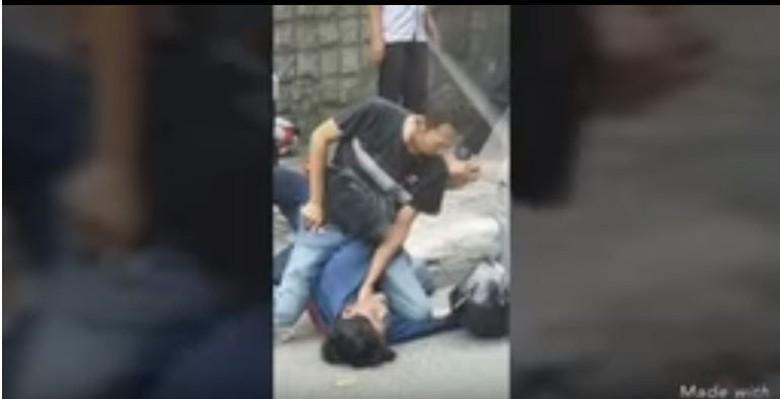 Begal di Tomang Diringkus Polisi. Foto: Screenshot Youtube