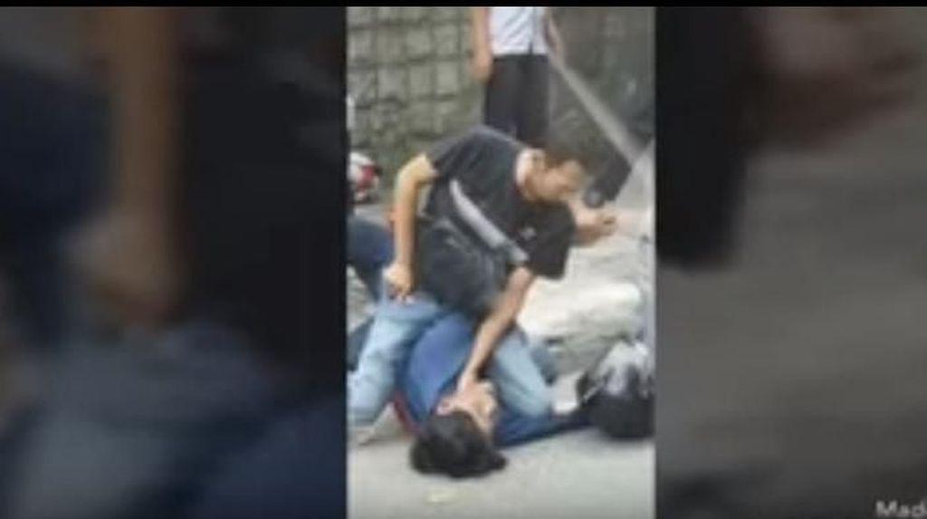 Rasakan! Aksi Begal di Tomang Diringkus Polisi