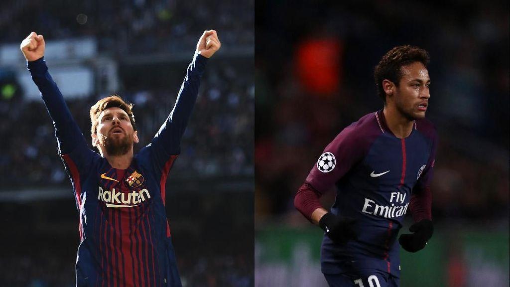 Keren! Tiap Cetak Satu Gol, Messi dan Neymar Akan Beri Makan 10.000 Anak