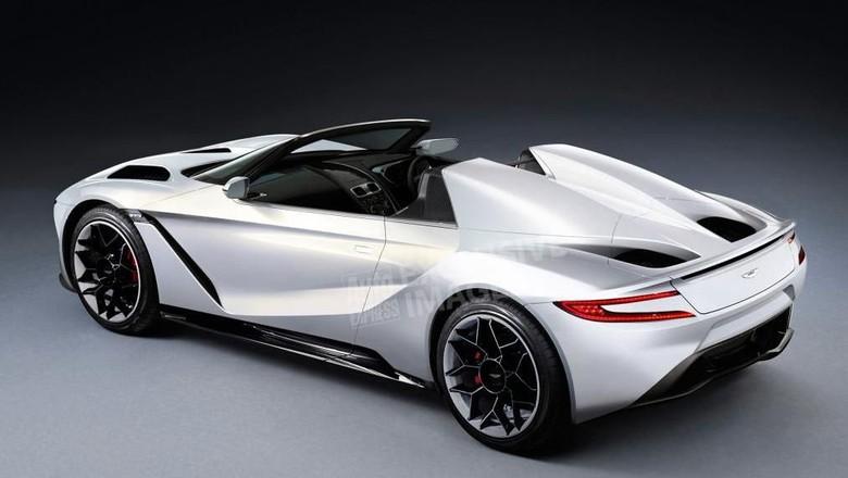 Mobil listrik Aston Martin Foto: Auto Express