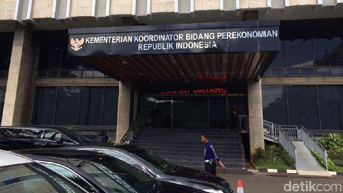 Kantor Menko Perekonomian/Foto: Puti Aini Yasmin/detikFinance