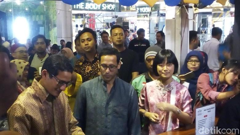 Hadiri Go Food Festival, Sandi: Sambutannya Via WA Saja Ya!