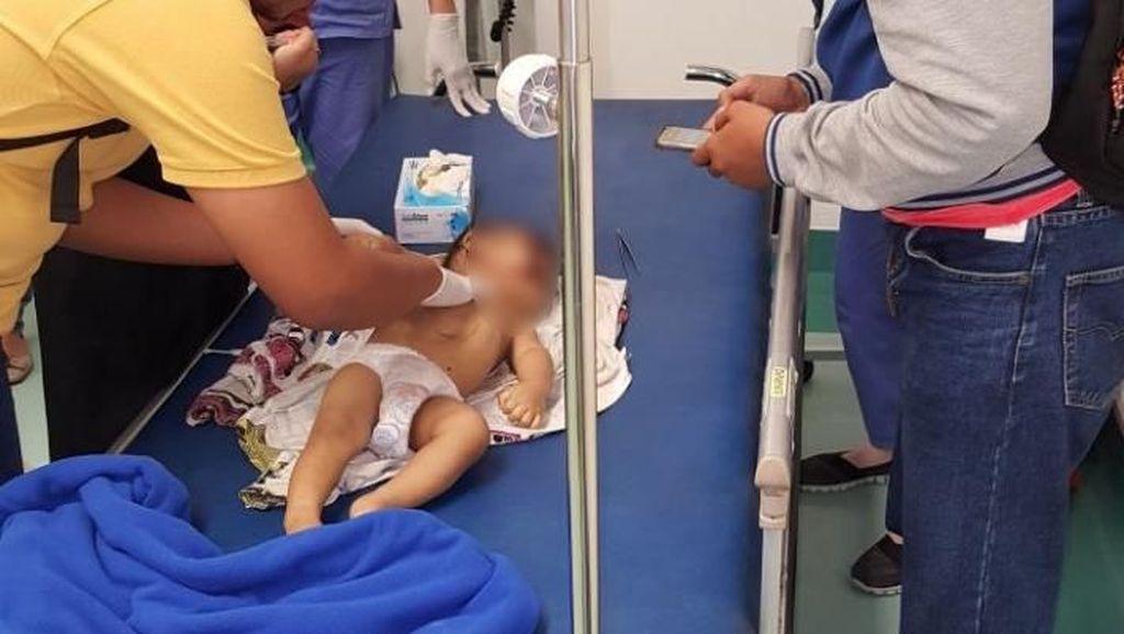 Kejiwaan Ayah Banting Bayinya di Surabaya akan Diperiksa