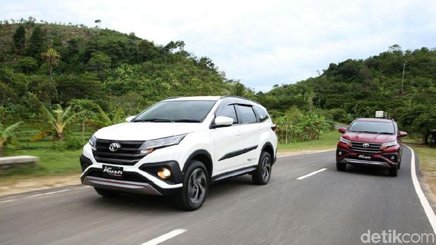 Test Drive Toyota Rush