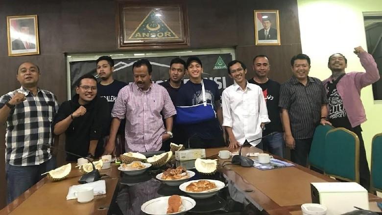 Joshua Datangi LBH GP Ansor, Pelapor: Sah-sah Saja