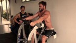Olahraga HIIT Jadi Rahasia Bugar Chris Hemsworth di Film Avengers