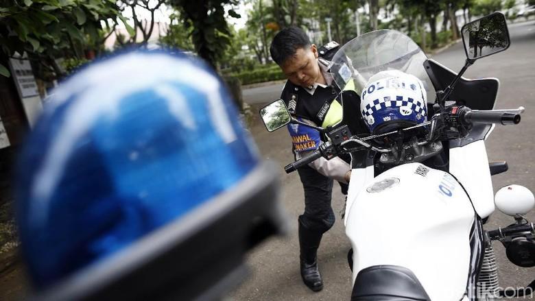 5 Tahun Sekali Polisi Walsus Dipilih Foto: Rachman Haryanto