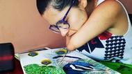 Siapa Sangka, Lukisan Ini Karya Seniman Disabilitas dan Autis