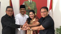 Megawati Tunjuk Ahmad Basarah Pimpin Tim Pemenangan Gus Ipul-Puti