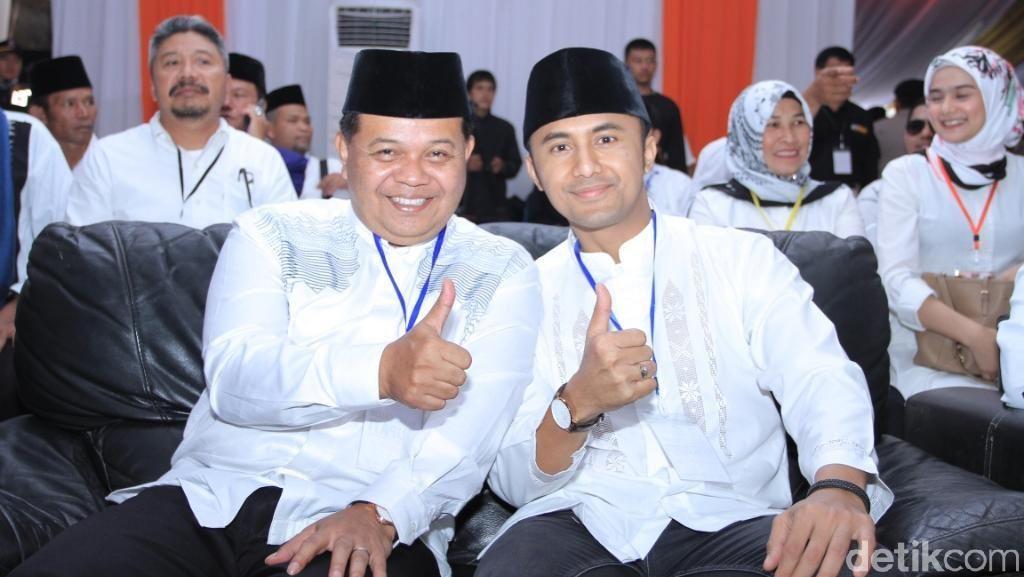 Artis Hengky Kurniawan Menang Hitung Cepat KPU Bandung Barat