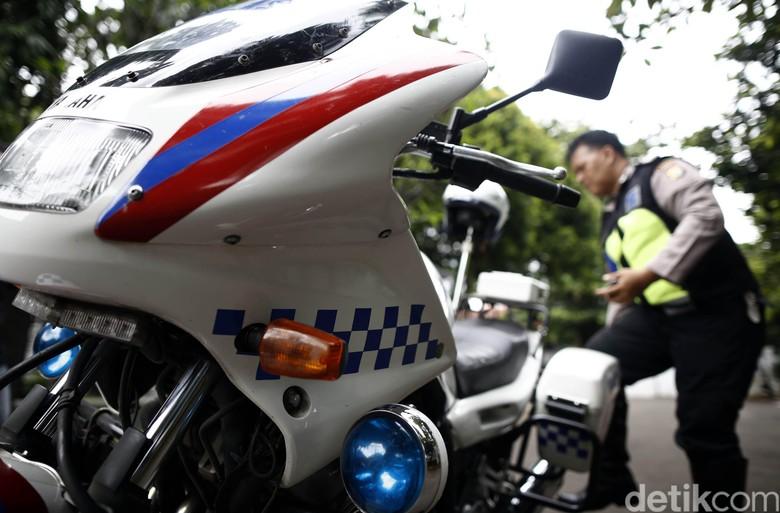Polisi Patroli dan Pengawal Foto: Rachman