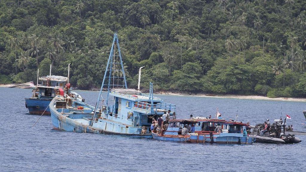 Jadi Lokasi Favorit, Laut Natuna Masih Rawan Maling Ikan