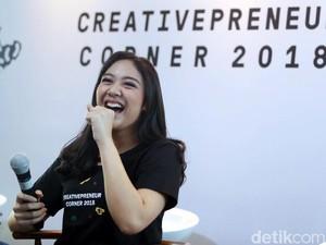Bikin Creativepreneur, Putri Tanjung Pernah Ditolak Sana-sini
