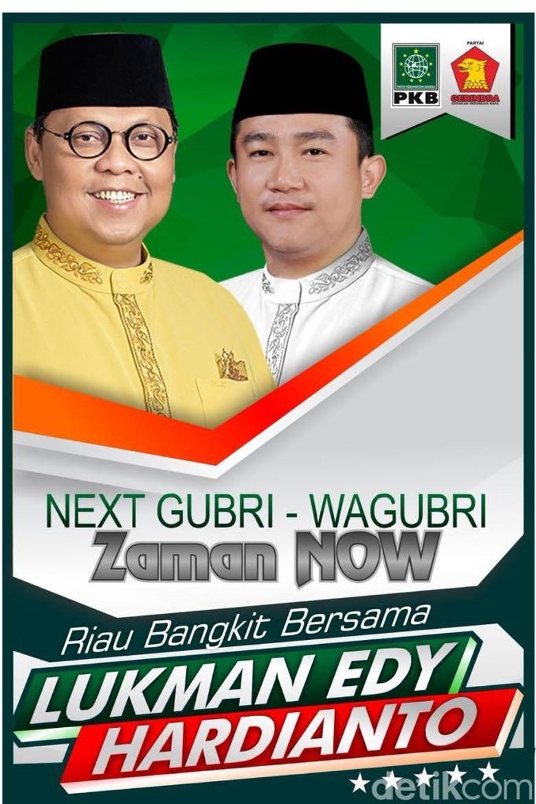 Akhirnya PKB dan Gerindra Usung Lukman Edy-Hardianto di Pilgub Riau