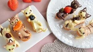 Miaw! Cat Lovers Pasti Gemas dengan 10 Makanan Lucu Ini