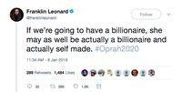 Cuitan Franklin Leonard