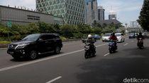 Biker Is Back! Pemotor Kembali Mengaspal di Jalan Thamrin