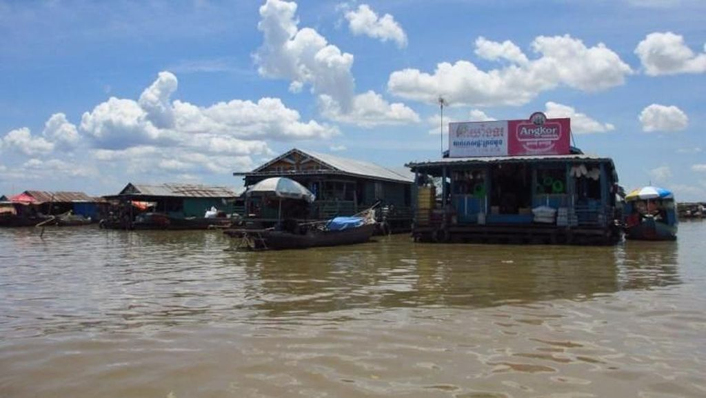 Tonle Sap Jadi Danau Terbesar di Asia Tenggara, Letaknya di Mana?