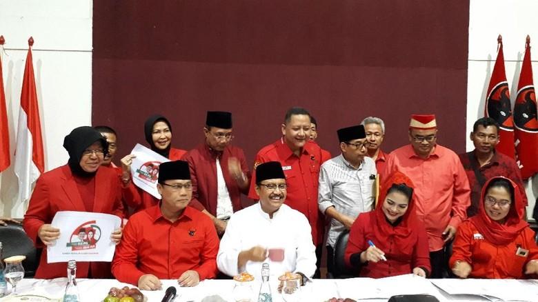 Megawati Hingga Prabowo Juga Kampanyekan Langsung Gus Ipul-Puti