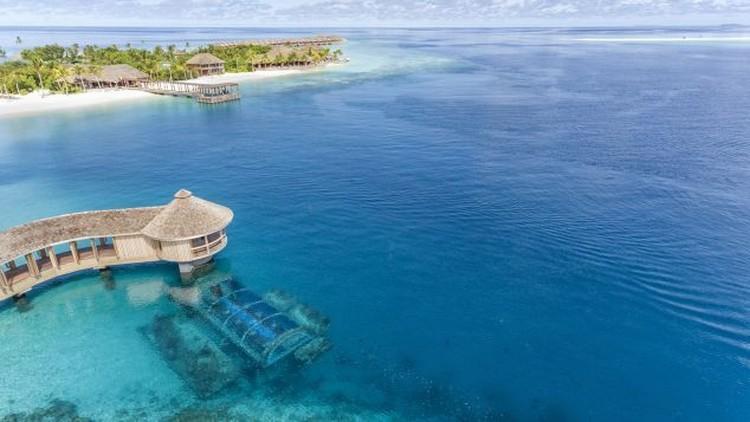 Restoran bawah laut di Maladewa
