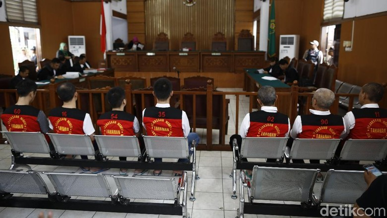 Sidang Tuntutan 8 Terdakwa Penyelundupan 1 Ton Sabu Digelar Hari Ini