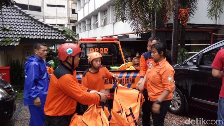 2 Bocah Tewas Tenggelam di Kolam Retensi GOR Pandanaran Semarang