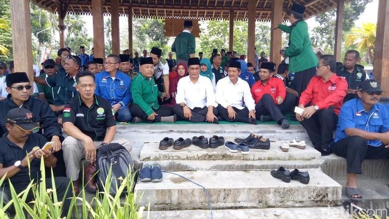 Petahana Bupati Mendaftar Kembali Bertarung di Pilbup Magelang