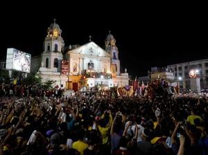 Prosesi Black Nazarene di Manila Renggut 1 Nyawa, 800 Luka-luka
