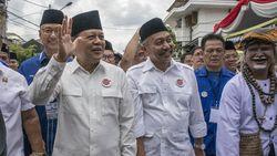 Pilgub Jabar, Sudrajat Nyoblos di Bandung Syaikhu di Bekasi