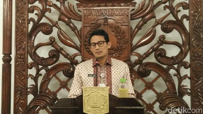 Pengukuhan 21 Nama Baru Tim Gubernur Ditunda, Sandi: Ada Klarifikasi