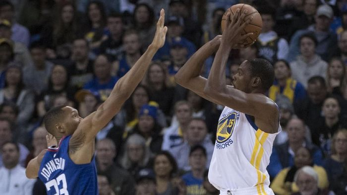 Golden State Warriors vs LA Clippers (Foto: Kyle Terada-USA TODAY Sports)