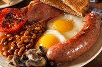 Ini dia tampilan full English breakfast.