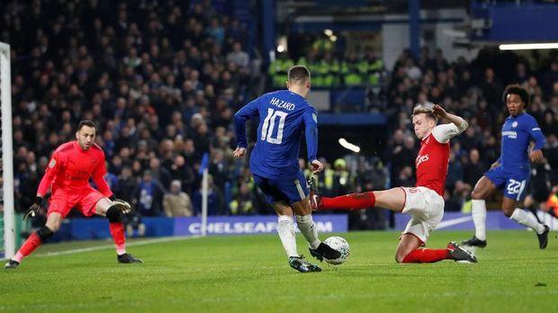 Arsenal akan menghadapi Chelsea pada final Liga Europa di Baku.