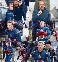 Bocor Syuting 'Avengers 4', Sinyal Kematian Captain America di 'Infinity War'?