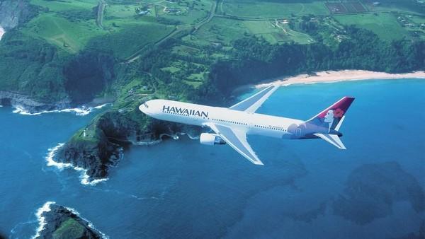Foto: Hawaiian Airlines juga tidak pernah mengalami kecelakaan fatal sejak 1929. Sayang, meski sukses membawa penumpang tanpa pernah kecelakaan, maskapai ini tidak selamat dari kebangkrutan. Hawaiian Airlines 2 kali bangkrut, yaitu di tahun 1993 dan 2003. (hawaiianairlines.com)