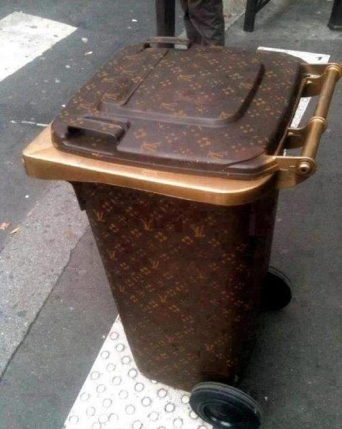tong sampah louis vuitton