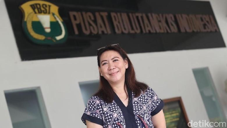 Susi Susanty Jadi Pelari Pertama Kirab Obor Asian Games 2018
