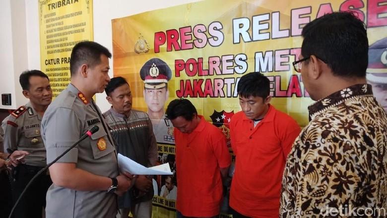 Polres Jaksel Tangkap 2 Pelaku Ganjal ATM di Cilandak