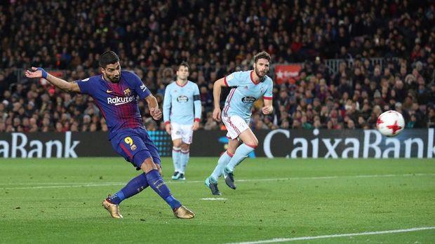 Barcelona tinggal butuh tiga kemenangan untuk memastikan gelar Liga Spanyol.