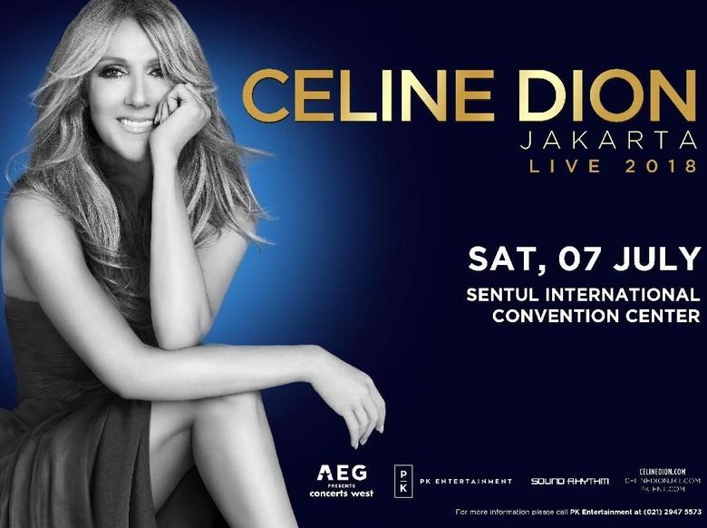 Pengumuman! Celine Dion Konser di Indonesia 7 Juli 2018