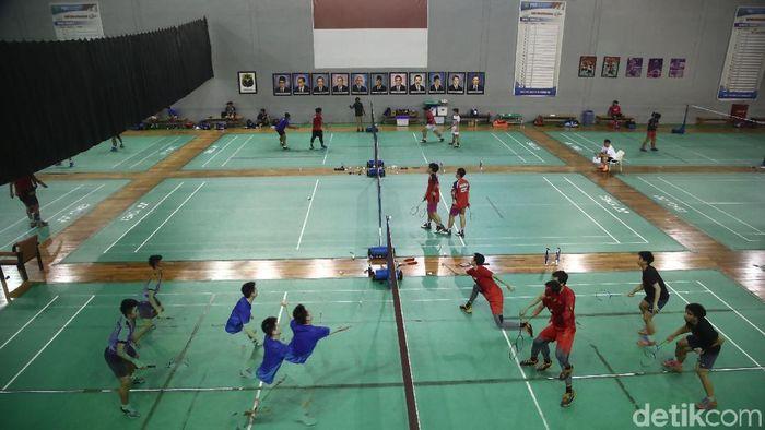 Begini Suasana Latihan Pelatnas PBSI, Jumat (12/1/2017) di Cipayung, Jakarta Timur. (Grandyos Zafna/detikSport)