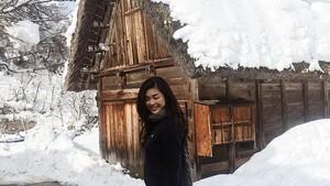 Foto: Kecantikan Desa Salju dan Pacar Anak Sulung Ahok