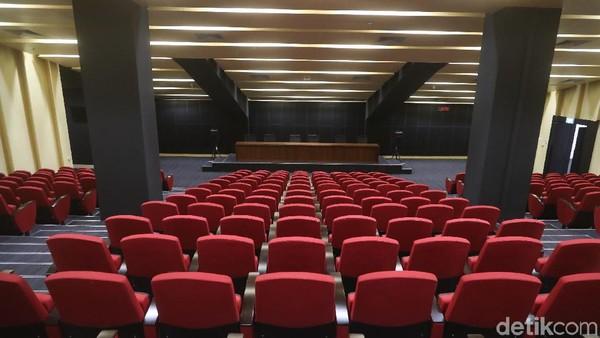 Bioskop? Bukan, Ini Ruang Jumpa Pers di Stadion Utama GBK