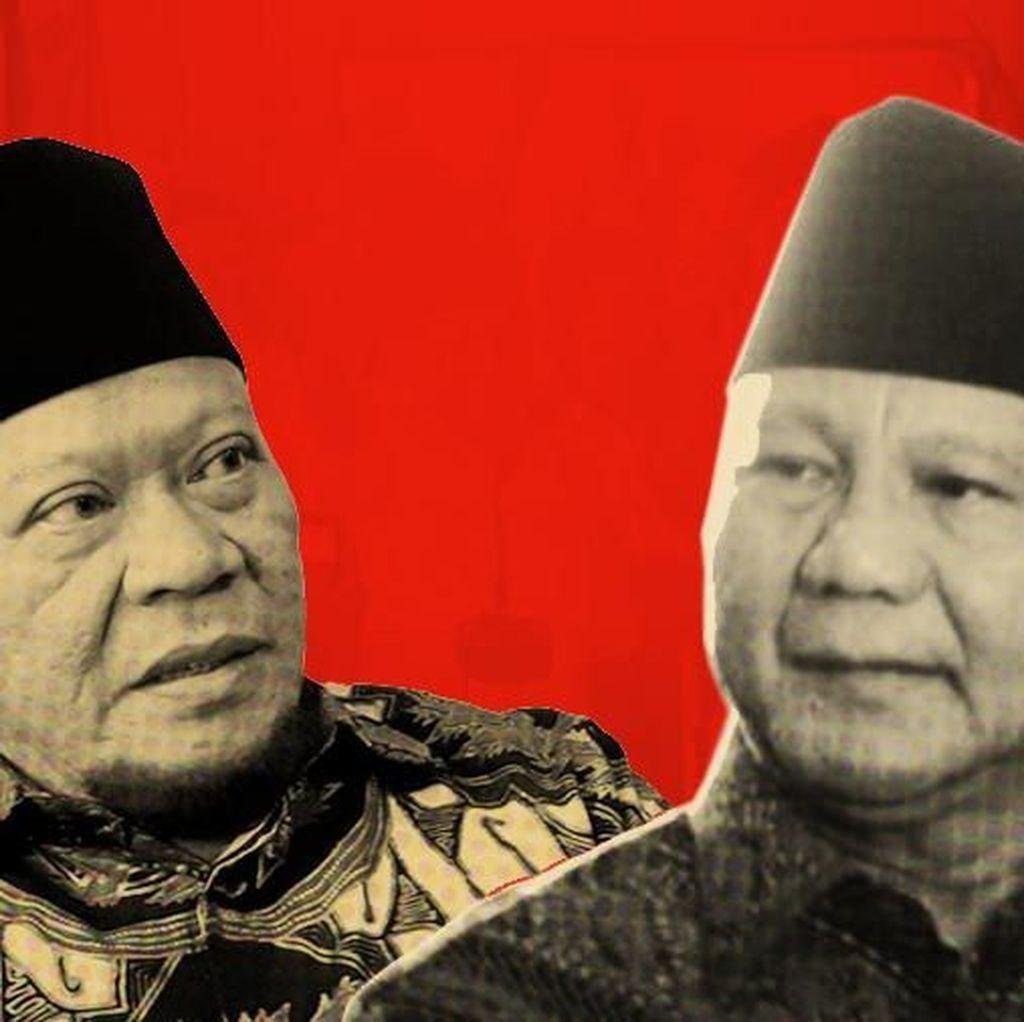 La Nyalla Sebut Prabowo Tak Pernah Salat Jumat, Gerindra Menepis
