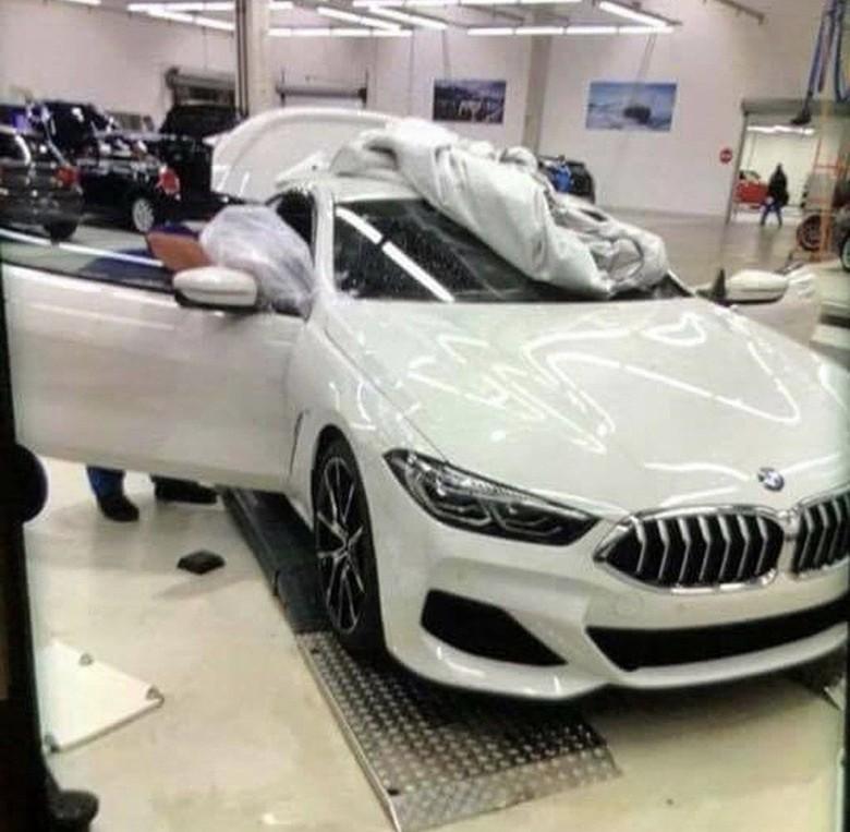 BMW seri 8. Foto: Carscoops
