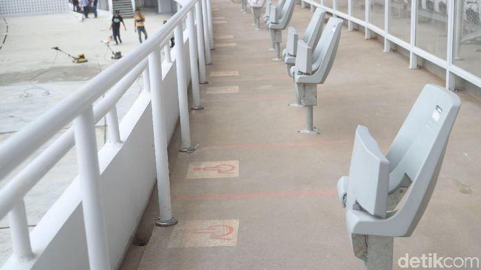 Stadion Utama GBK sudah lebih ramah disabilitas (Foto: Grandyos Zafna/detikSport)