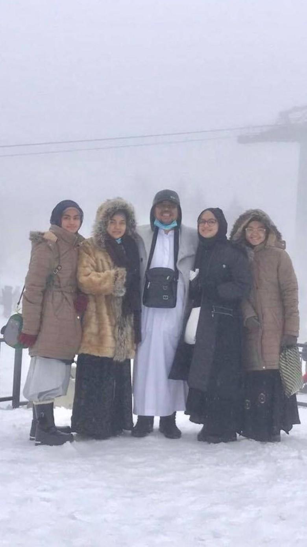 Potret Habib Rizieq Sekeluarga di Turki