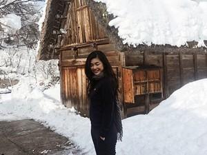 Desa Salju Cantik yang Didatangi Kekasih Putra Sulung ahok